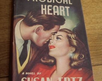 The Prodigal Heart hardback by Susan Ertz 1951 - stunning cover