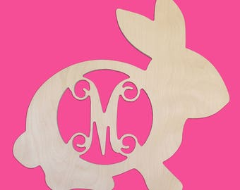 Wooden Bunny-UNFINISHED wood-Paint your favorite color