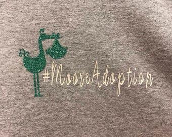 Fundraiser T-shirt #MooreAdoption