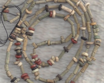 Ancient Egyptian Mummy Beads, 1000-300 BC