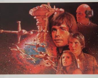 """Star Wars """"Before the Storm"""" by Drew Struzan"""