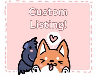 Custom Listing for Nia