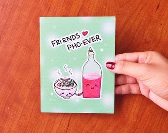 Best friend card - Funny best friend card funny, cute BFF card for best friend, friendship card, funny card for friend, funny friend card