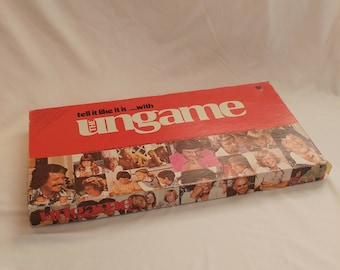 """1975 The Ungame """"Tell It Like It Is"""" Board Game"""