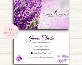 Young living essential oils business card digital design young living essential oils business card digital design template colourmoves