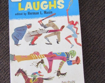 Sports Laughs Edited by Herman L. Masin 1958 Free Shipping
