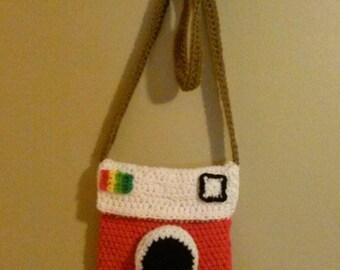 Crochet Polaroid Purse