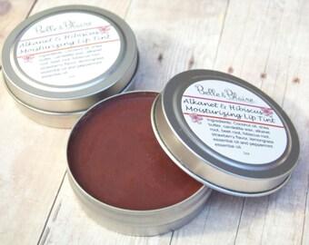 Alkanet & Hibiscus Moisturizing Lip Tint- Plant Based- Vegan Lip Stain