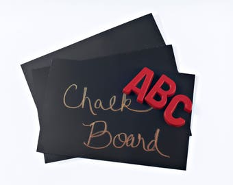2' x 3' Chalkboard Sheet with Adhesive on Back - Magnetic Receptive Surface