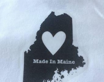 Made in Maine Baby Onesie