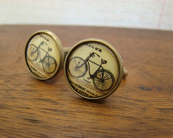 Bicycle Cuff Links - Style No. 805