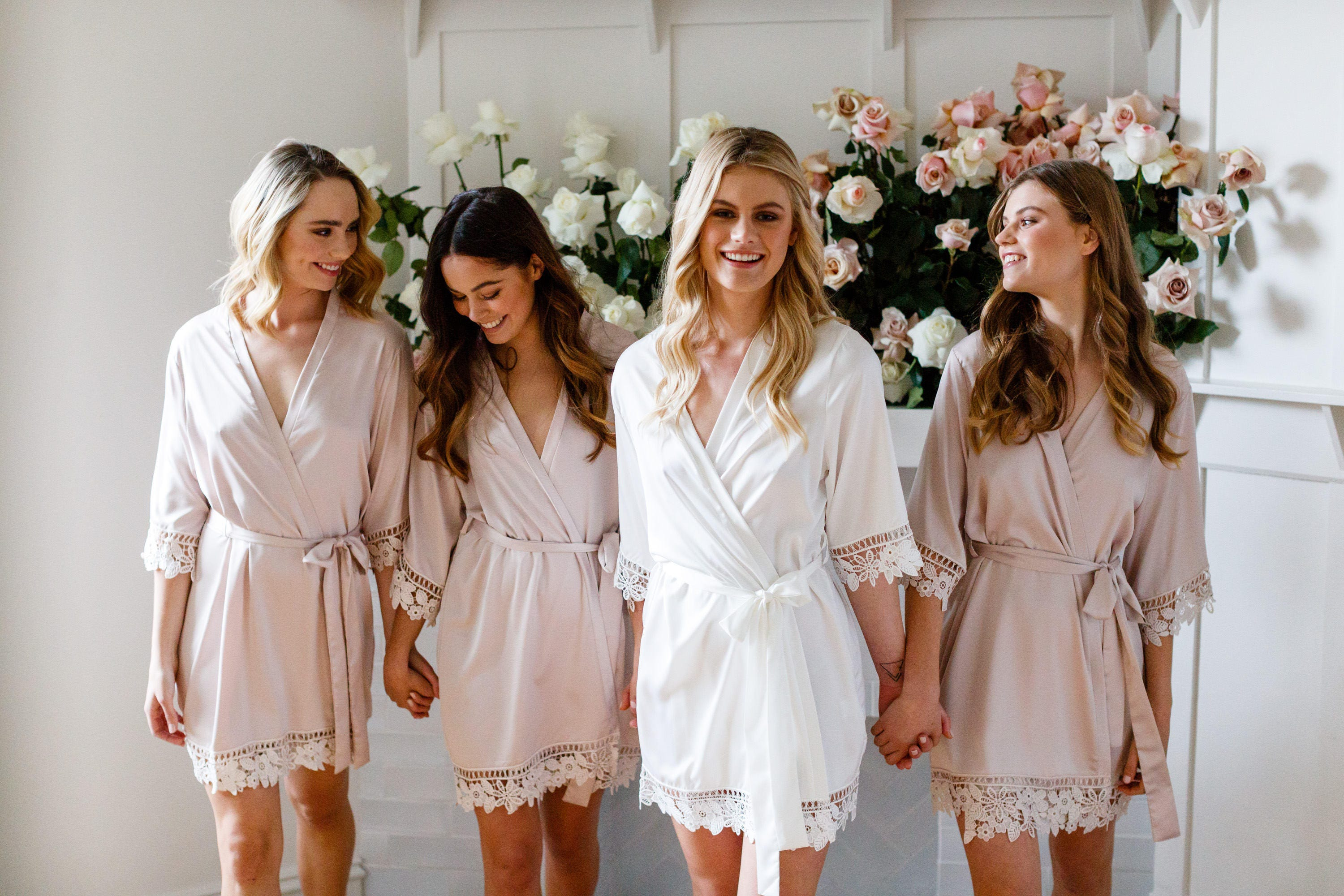 Lace Bridal Robe // Bridesmaid Robes // Robe // Bridal Robe