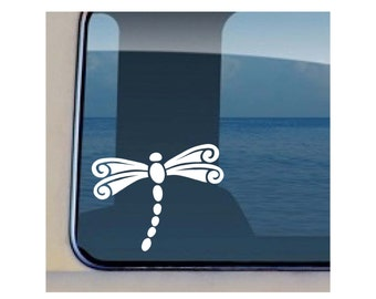 Dragonfly Decal Flying Insect Vinyl Sticker  40
