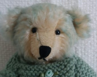 Artist bear for Collectors - Aqua