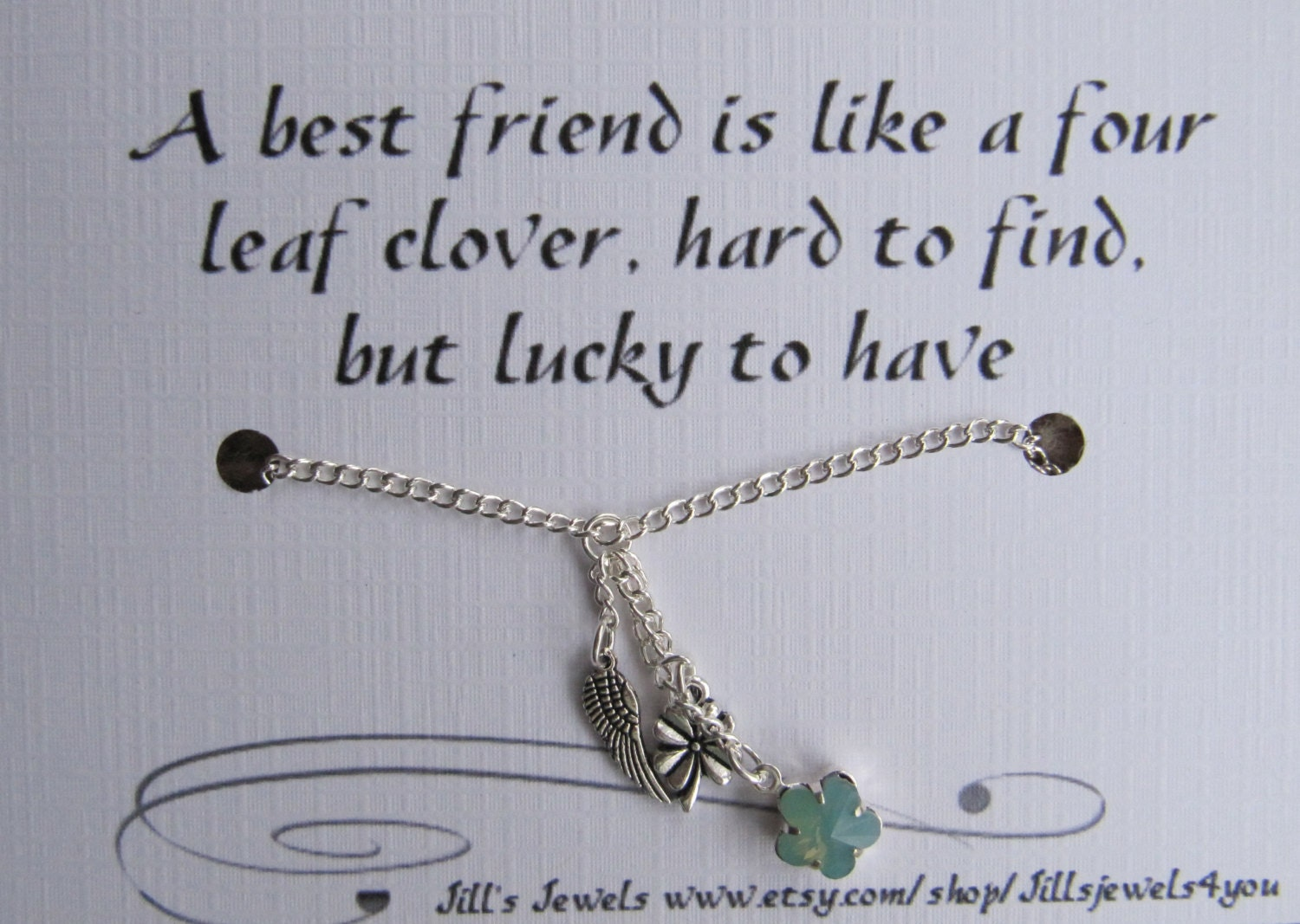 Quotes About Pearls And Friendship Fascinating Best Friend Lucky Charm Necklace And Friendship Quote