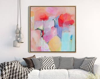 Abstract Wall Art, Giclee Print, Red Abstract, Abstract Painting, Large Wall  Print, Modern Art Abstract, Wall Decor