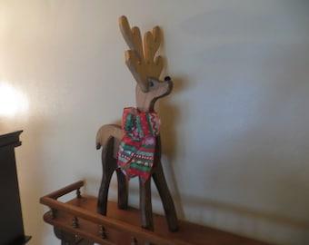 Collapsible Christmas Reindeer