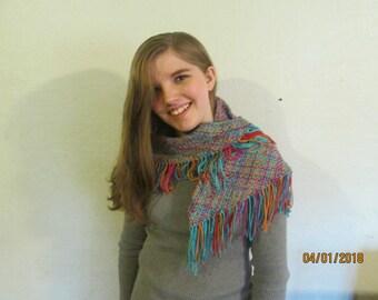 hand woven 4' shawl