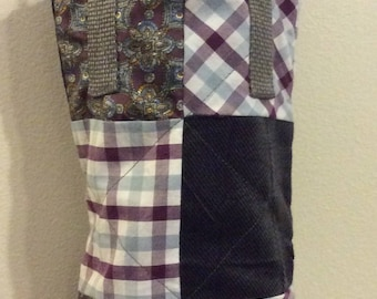 Upcycled, Quilted Totes: 750ml