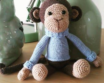 Crochet Monkey of Sokkenwol