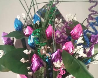 Hershey's Kisses Rose Bouquet