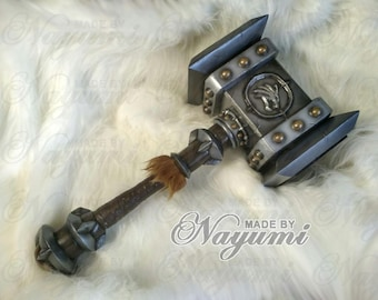 Hammer inspired by Doomhammer World of Warcraft