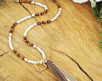 PEARL AND TASSEL