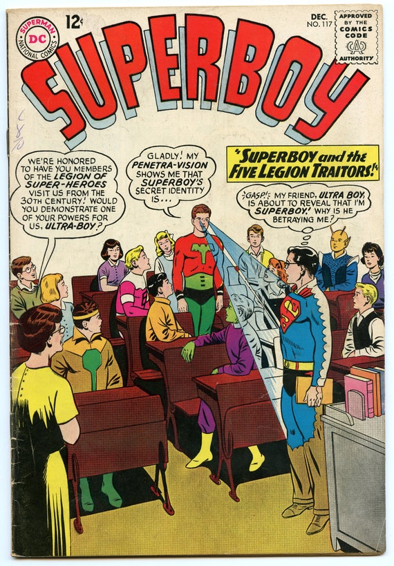 Superboy 117 Dec 1964 VG (4.0)