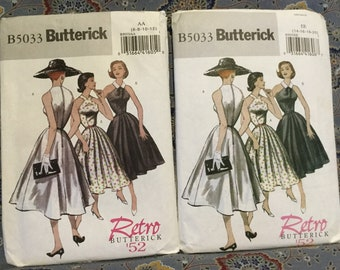Butterick 50s dress pattern size 14-20