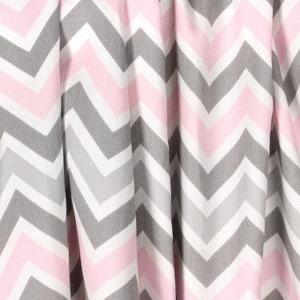 Nursery Curtains, Designer Zig Zag Chevron Curtain Panels 24W Or 50W X 63,  84