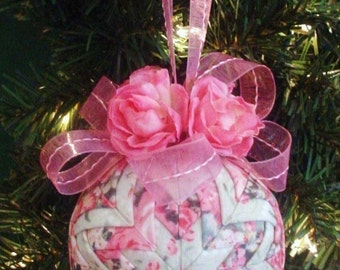 Quilted Christmas Ornament Tutorial Pattern PDF - Holidays - Handmade Christmas - INSTANT DOWNLOAD