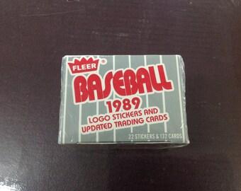 1989 update fleer baseball