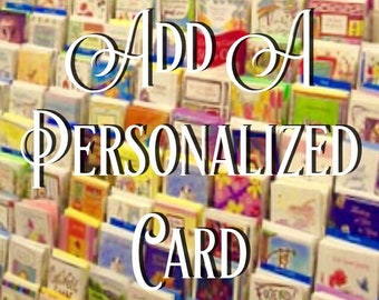 Add A Personalized Card