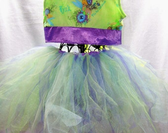 corset tutu costume set.