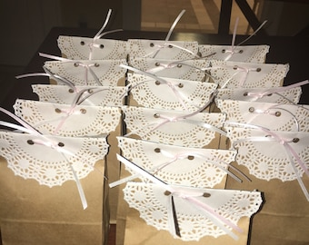 Baby shower or party favor bags