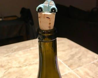Volkswagon Wine Stopper, VW Gifts, VW Beetle Accessory, Love Bug, Volkswagon Gift, Volkswagon Wine Stopper