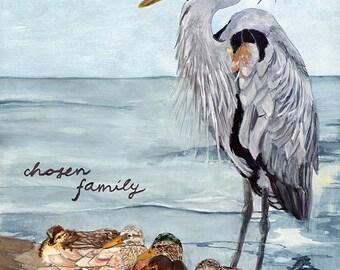 Impression famille choisi — Abacus Corbeau