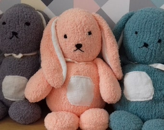 Knitted Bunny rabbit plush