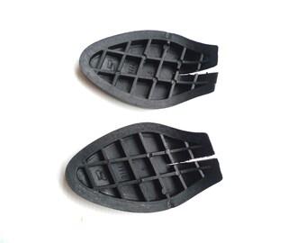 1 pair of PVC black platform for women shoe/sandals, shoe repair ( S or M size)