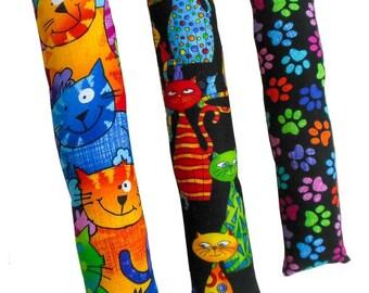 Kicker Stick Sampler Set -  Handmade Organic Catnip Kicker Stick Cat Toy Set - 3 Toys