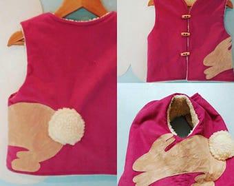 Bunny waistcoat