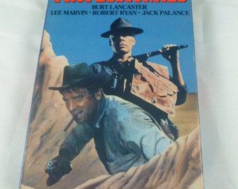 The Professionals Burt Lancaster Lee Marvin Robert Ryan Jack Palance VHS 1989