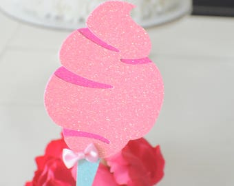 Cotton Candy Cake topper, Cotton candy party, Cotton Candy