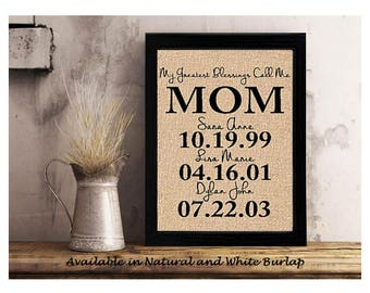 mother of the bride personalized gift for mom mother of