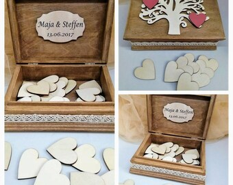 Alternative personalized wedding guest book