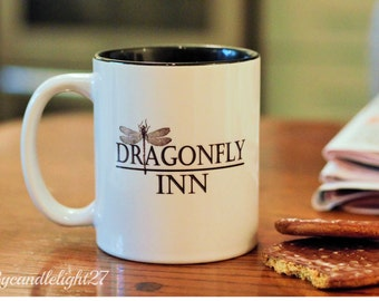 Dragonfly Inn, Stars Hollow,  Gilmore Girls, Rory Gilmore, Sookie St James, Inspired - Hand Crafted Cup