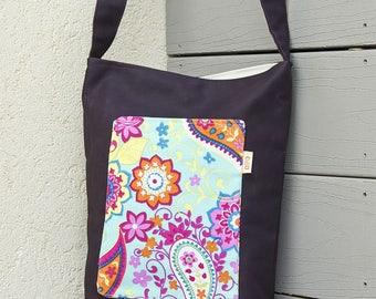 Brown bag, Brown handbag, Brown purse, Brown tote bag, Brown tote, cross body bag, cross body tote, Tote, Messenger Cross Body Bag