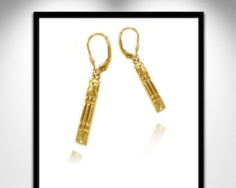 Atlantis Earrings Vermeil _ Atlante Vermeil earrings