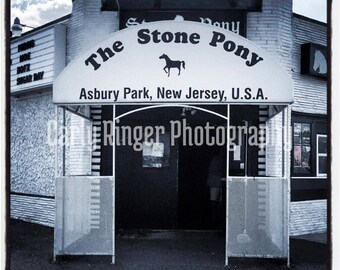 Shore: Stone Pony Asbury Park Tile Coaster