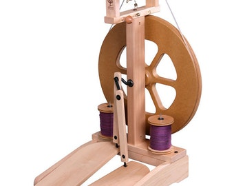 Ashford Kiwi-2 Spinning Wheel - Unfinished - FREE Shipping